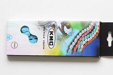 KMC BMX Blue Freestyle Bicycle Bike Chain 100 Links 1/2 x 1/8