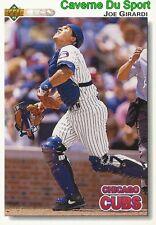 351 JOE GIRARDI CHICAGO CUBS  BASEBALL CARD UPPER DECK 1992