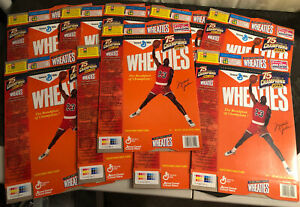 Lot (10) 1999 Michael Jordan 75 Years of Champions Wheaties Cereal Box Flatten