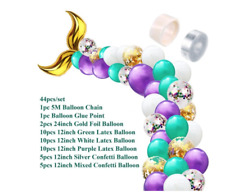 Mermaid Tail Balloons Party Decorations