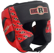 Ringside Apex Boxing Headgear - Sparring Headgear Red and Black L/Xl