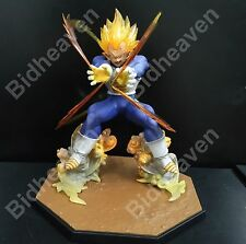 DBZ Dragon Ball Z Super Saiyan Vegeta Battle State Final Flash Action Figure Toy