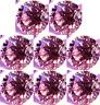 LOT DIAMANT NATUREL ROSE POURPRE 0.05 CT. VRAC 2.30 mm. ROND VVS1