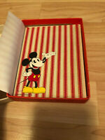 Walt Disney Hallmark Notes Mickey Mouse Stationary Cards Envelopes Collectible