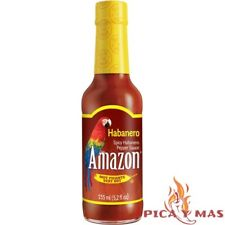 Salsa habanero Amazon Importacion Colombia Pìcante botella 155ml