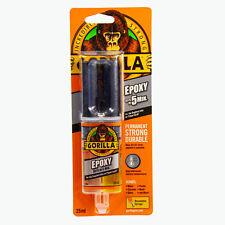 Gorilla Epoxy 25 ml, 2-Komponenten-Kleber, kein Mischen notwendig, transparent