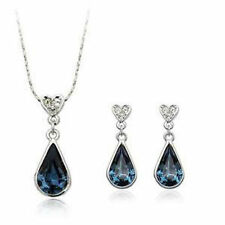Cubic Zirconia White Gold Fashion Jewellery Sets