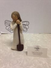 New listing Willow Tree, Angel of the Garden #26103, Demdaco, wire wings, holding shovel