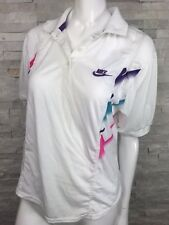 Vintage Nike Top Womens Size Small Challenge Court Embroidered  Purple Nike