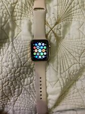 Apple Watch Series 3 - Rose Gold with Pink Sand Sport Band (GPS + Cellular)  42m