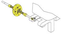 Lenkung Spritzkasten-Halterung Bootslenkung Halterung 15° Teleflex