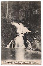 CPA Carte Postale Ancienne Animée PLOMBIERES (88) Cascade de Faymont, Circulée