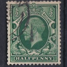 1934-36 GV 1/2d PHOTOGRAVURE WMK SIDEWAYS USED SG439a