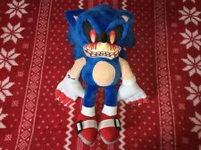 "NEW 15"" SONIC.EXE The Hedgehog Sonic Plush Toy 2019 Unofficial Custom"