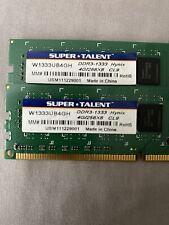 8gb (2x4gb) Hynix Super Talent DDR3–1333 Ram