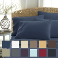 Home Collection Premium 6 Piece Ultra Soft Bed Sheet Set