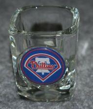 PHILADELPHIA PHILLIES MLB BASEBALL 2oz SPORTS SQUARE SHOT GLASS