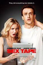 SEX TAPE - 2014 - orig D/S 27x40 Reg movie poster - CAMERON DIAZ, JASON SEGEL