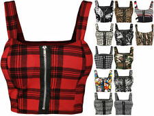 Polyester Clubwear Tank, Cami Machine Washable Tops & Blouses for Women
