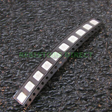 100x RGB 5050 SMD LED PLCC-6 6Pin 3 Chip 5mm Red Green Blue 6 Pin US Seller Z43