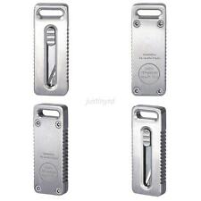 Portable Outdoor Camping Hiking Titanium TC4 Alloy Tactical Mini Knife