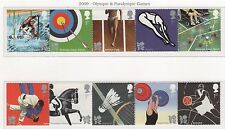 2009 DECIMAL COMMEMORATIVES. SG2981-2990. OLYMPIC GAMES. UNMOUNTED MINT.