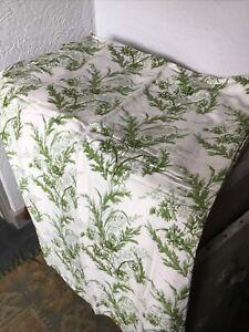 Vintage French Romanex de Boussac 'Deliane' Curtains-floral Chintz Toile #6406