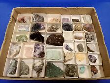 Mineralien/Mineraliensammlung - Lot/Flat/Kiste/Karton: Klein-/Normalstufen - 16
