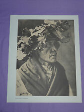 "Edward Curtis Native American Indian Vintage Photo Print ""PORCUPINE - CHEYENNE"""