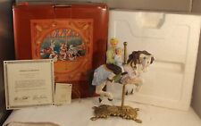 "1987 American Carousel Collection #8222 Horse Signed 8"" Tall 2669 /17500"