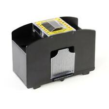 Poker Kartenmischer elektrische Kartenmischmaschine f. 4 Decks batteriebetrieben
