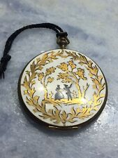 New listing Vintage Volupte Enamel Decorative Powder Compact