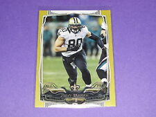 2014 Topps JIMMY GRAHAM #234 Gold Variant/2014 Saints-Seahawks Miami HURRICANES