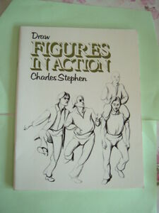 Charles Stephen: Draw Figures In Action