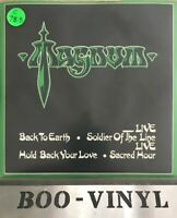 "Magnum - 2 x 7"" P/S - Back To Earth - 1982 Jet Records  JET 7027 Nr Mint Con"