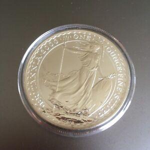GB ROYAL MINT £2 BRITANNIA 1OZ 2000 SILVER COIN SUPERB QUALITY IN CAPSULE