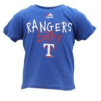 Texas Rangers Official Genuine MLB Majestic Baby Infant Size T-Shirt New Tags
