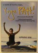 New A Taste of Hatha Yoga Pah! Volume 1 taught in sign language workout Dvd