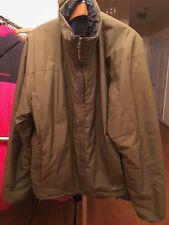 ArcTeryx Coat Windstopper Jacket Coyote Mens Full Zip Primaloft  Size Large