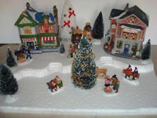 Christmas Village Display Base Platform CH22  Dept 56 Lemax Dickens Snow Carol