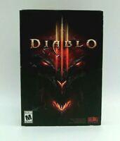 2012 Diablo 3 Video Game Computer PC Windows XP Vista 7 Macintosh CIB OPEN BOX