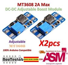 2pcs MT3608 2A Max DC-DC Step Up Power Module Booster Power Module for Arduino