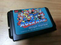 Capcom Rockman Mega World Mega Drive Sega GAME Cassette Only Very good condition