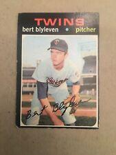 1971 Topps Bert Blyleven Minnesota Twins #26 Baseball Card