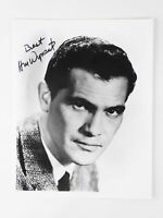 H.M. Wynant Vtg Signed Autographed 7x9 Photo Western Twilight Zone Actor