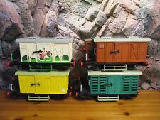( Shr ) 4025 4101 4102 4111 4115 Boxcar Vagón Oeste Tren LGB