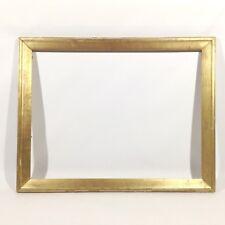 88 x 69 cm Gemälde Bilderrahmen Antique Frame Barock Jugendstil Foto Goldrahmen
