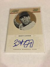 2012 PLAYOFF PRIME CUTS RATED ROOKIE BRETT LAWRIE AUTO RC /25