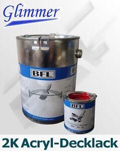 1xSet (2,5kg 2K Acryl-Eisenglimmer-Lack + 0,25kg Härter) Extremschutz 31,69 €/kg