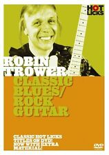 ROBIN TROWER CLASSIC BLUES / ROCK HOT LICKS LICK LIBRARY DVD HOT147 LEARN 2 PLAY